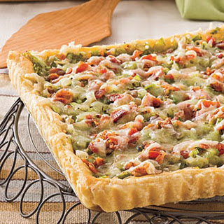 Bacon-and-Leek Tart