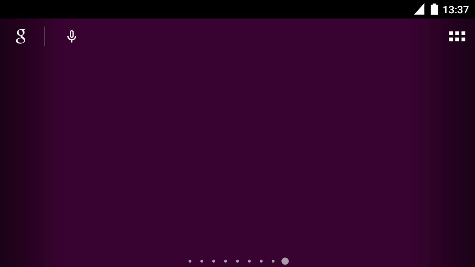 One Single Color Wallpaper Screenshot