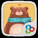 Sweet Bear GO Launcher Theme v1.0