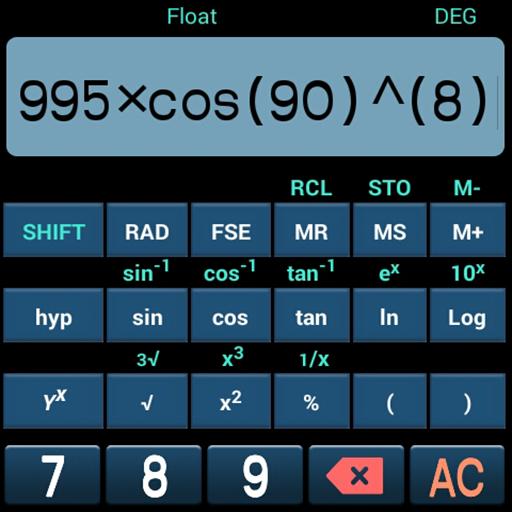 เครื่องคิดเลขวิทยาศาสตร์ ฟรี 工具 App LOGO-APP試玩