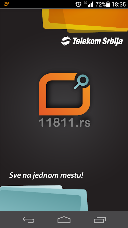 11811.rs Telefonski imenik- screenshot