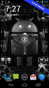 Steampunk Droid Free Wallpaper - screenshot thumbnail