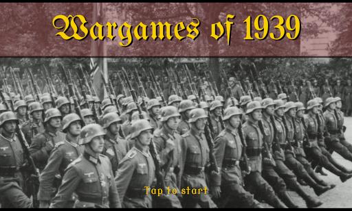 Wargames of 1939