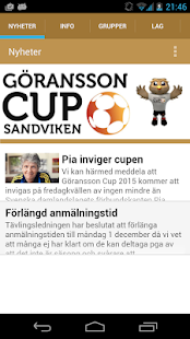 Göransson Cup- screenshot thumbnail