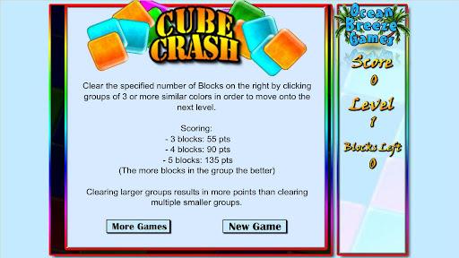 【免費休閒App】Cube Crash Free!-APP點子