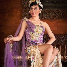 The Princess by Purnawan  Hadi - People Portraits of Women ( bali, princess, indonesia, lovely, gown, culture )