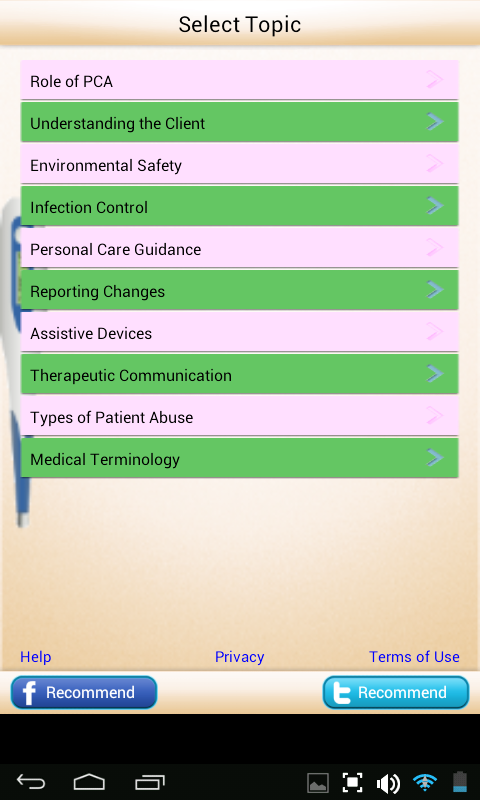 Free Nursing Caregiver PCA- screenshot