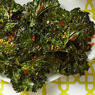 Citrusy Kale Chips.