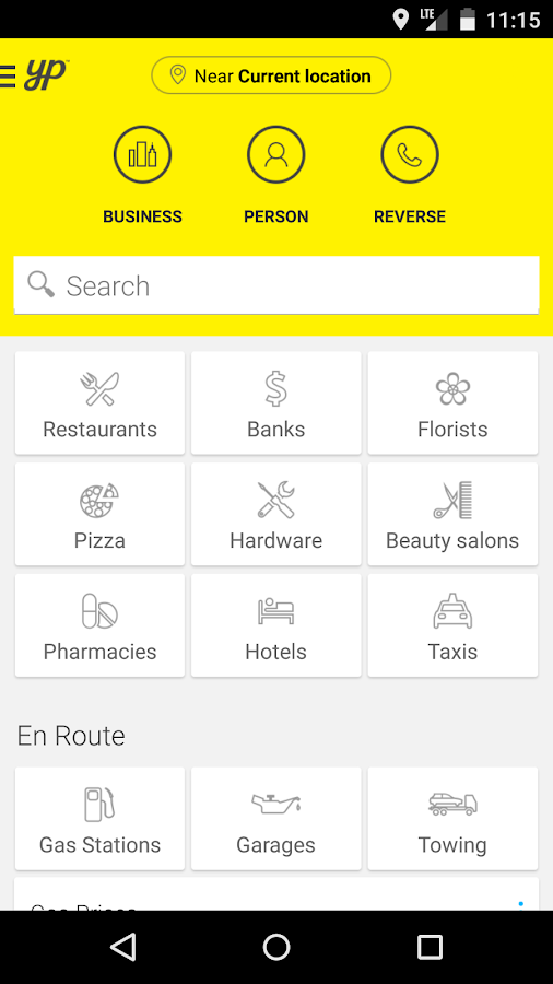YP.ca Yellow Pages Canada - screenshot