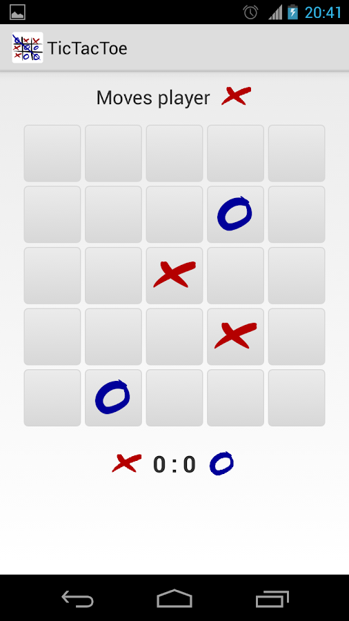 TicTacToe - screenshot