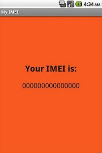 My IMEI - screenshot thumbnail