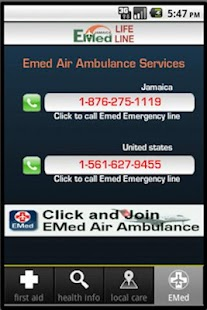 EMED JAMAICA LIFE LINE- screenshot thumbnail
