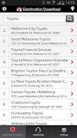 Screenshot of Toyota Link