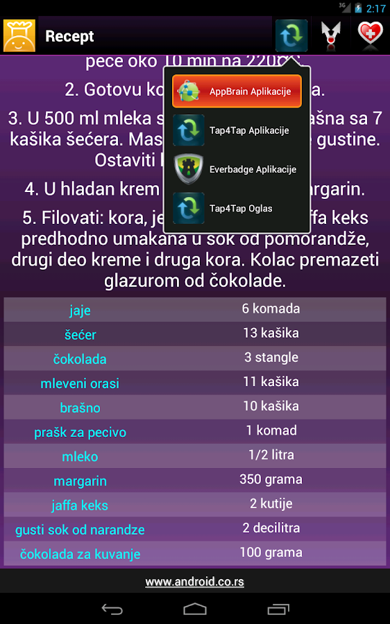Šef Kuhinje - screenshot