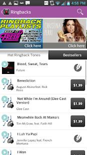 Virgin Mobile Music+ - screenshot thumbnail