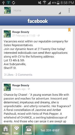 Rouge Beauty Guyana