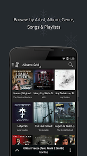 doubleTwist Music Player, Sync Screenshot