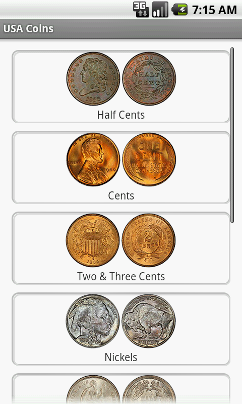 USA and Euro Coins- screenshot