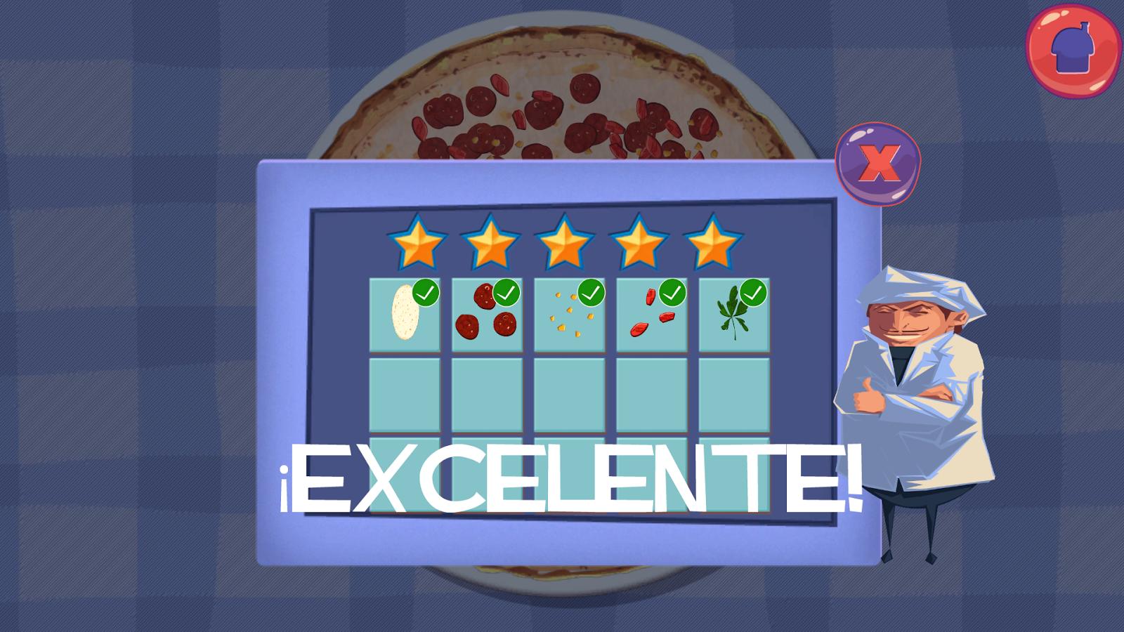 Cocinar pizza juegos de cocina aplicaciones android en - Cocinas de cocinar ...