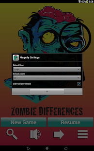 Zombie Differences - screenshot thumbnail
