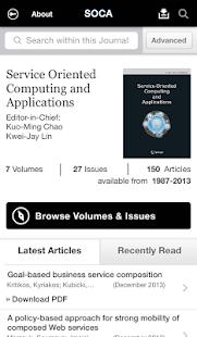 SOCA Journal - screenshot thumbnail