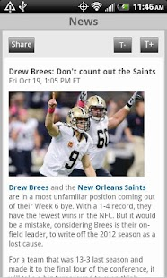 Sporting News Pro Football - screenshot thumbnail
