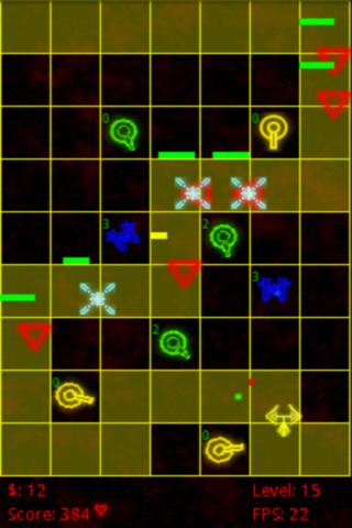 Pixel Defense Lite - screenshot