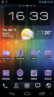 Neon Purple Icons Pack -ADW GO- screenshot thumbnail