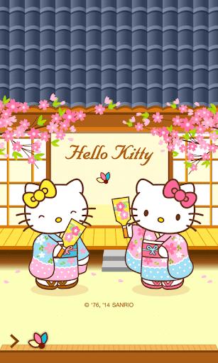Hello Kitty Fest Screen Lock