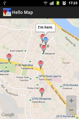 Hello Map