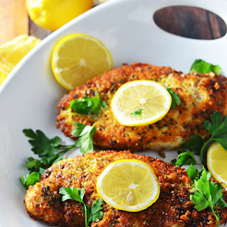 5 Ingredient Breaded Lemon Chicken.