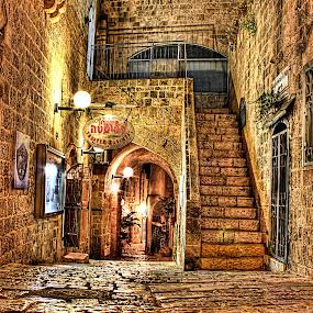 OLD JAFFA by Abu  Janjalani Abdullah - City,  Street & Park  Neighborhoods ( street&park, city )