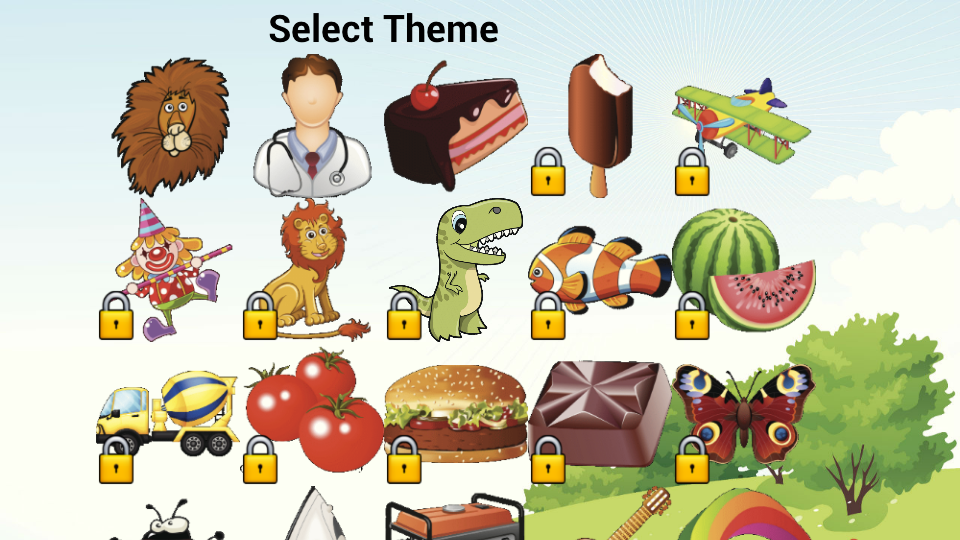 Kids Memory Pack - Free- screenshot