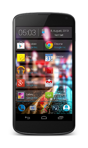 Now Cards UI Glass Zooper Skin