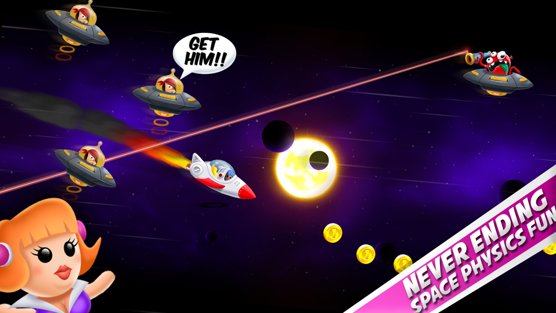 Space Chicks- screenshot