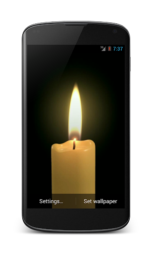 Candle Video Live Wallpaper HD