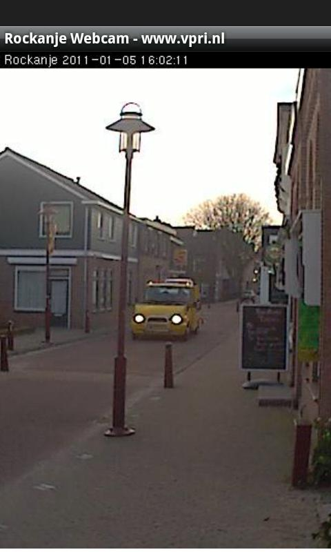 Rockanje Webcam - screenshot