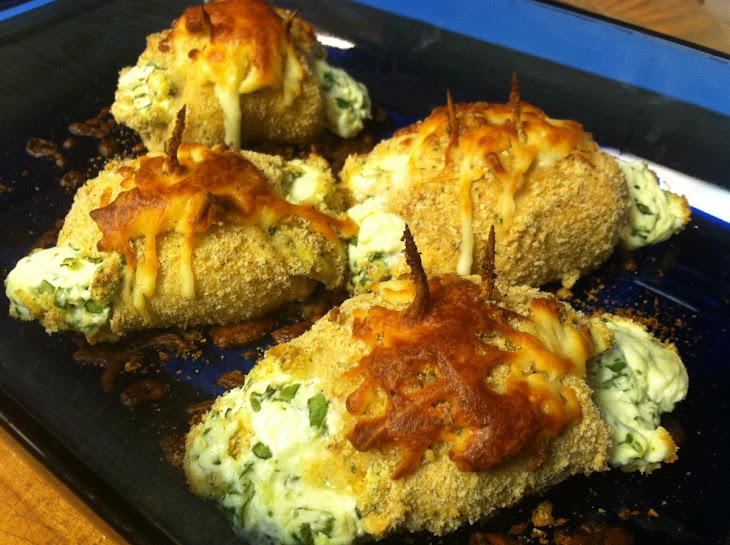 Cream Cheese & Spinach Chicken Roll Ups Recipe