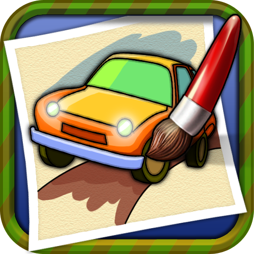 Coloring Book Cardraw game
