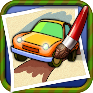 Coloring Book Car-draw game - Android Apps on Google Play