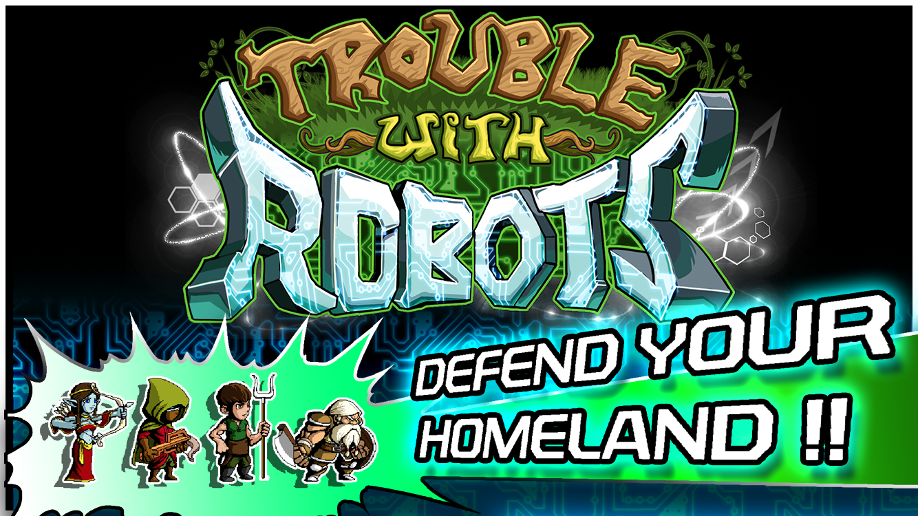 Trouble With Robots- screenshot