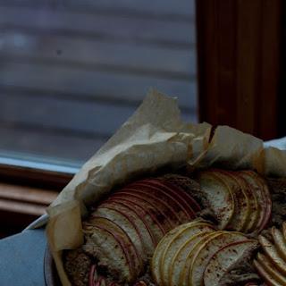 Apple, Amaranth and Sage Cake