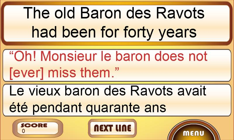 Learn French with Stories- screenshot