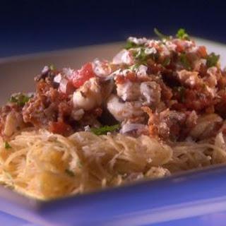 Lobster in Puttanesca Sauce