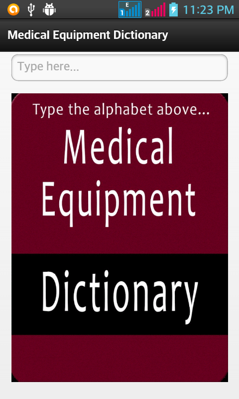 Medical Equipment Dictionary- screenshot