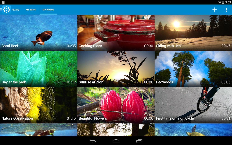 WeVideo - Video Editor & Maker - screenshot