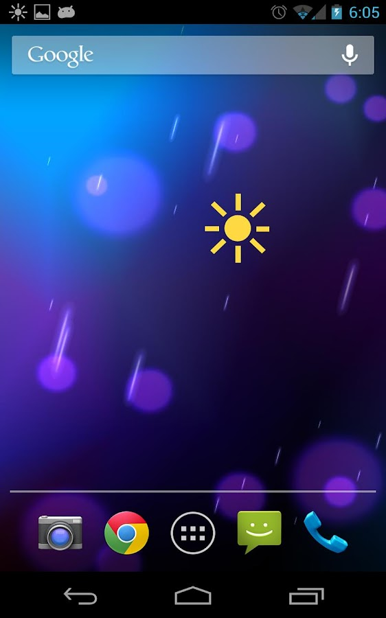Nexus Flashlight Widget - screenshot