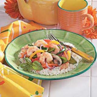 Shrimp Vegetable Stir-Fry.