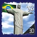 Brazil 2014 livewallpaper 3dhd icon