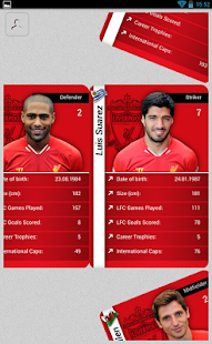 Liverpool FC Stat Attack 2014 - screenshot thumbnail